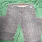 jeans Women cotton Aeropostale stretch boot  Medium wash SIZE 7/8 waist 32 pants