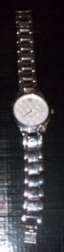 quartz watch diamond LANE BRYANT chrome singapore mov't stainless steel