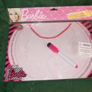 schooling Barbie writng art hanging dry erase board with marker NEW 8x11 inch