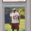 KARLOS DANSBY Bowman 1st edition RC BROWNS 2004 GRADED Gem 10 football card