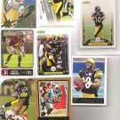 8 STEELERS TIMMONS RC POLAMALU SANTONIO HOLMES RC Grade 10 JAMES FARRIOR RC