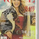 Vogue magazine Blake Lively AUG 2014 unread in SEALED wrapped book issue