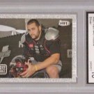 MATT KALIL Silver foil RC VIKINGS 2012 Sage Hit GRADED Gem 10 #45 football card