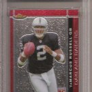 JaMARCUS RUSSELL 2007 OAKLAND RAIDERS Topps Finest RC Graded 10 football CARD