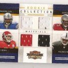 4 jersey football RC relic card Ndamukong SUH Eric BERRY Gerald McCOY McCLAIN