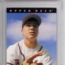 rare grade PSA 6 Chipper Jones Star RC baseball card Atlanta Braves low pop