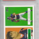 PSA 10 graded RC Jay Cutler Chicago Bears Topps 2006 football card single