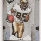 REGGIE BUSH 2008 Leaf limited NFL spotlight /99 SP football card 49ers lions