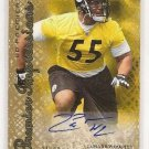 Lamarr Woodley /99 NFL Steelers Raider UD Premier gold Auto rookie football card