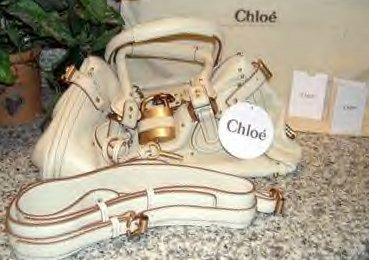 SOFT CREME LEATHER BAG WITH SHOULDER STRAP