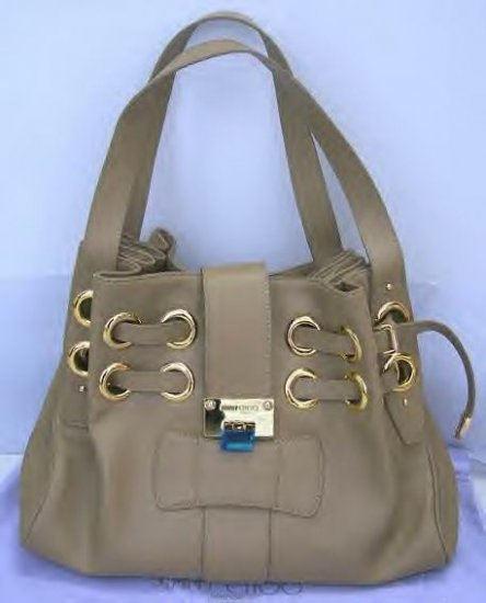 LEATHER RAMONA BAG IN TAN