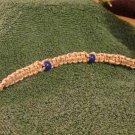 Macrame Bracelet w/Plastic Beads (MJ004)