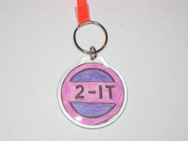 Round Key Ring w/Round 2 It (KR018)