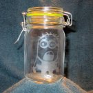 Glass Nug Jug With Minion Etching (EG020)