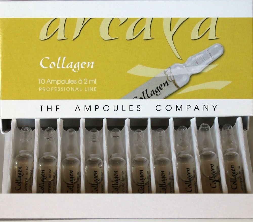 Collagen Ampoules 10x2ml Arcaya . Natural staff turnover. Renewal TIGHTENING