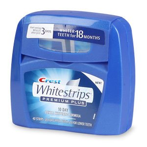 Crest Whitestrips Premium Plus