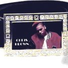 CHRIS BROWN PHOTO #3 GLOW DARK CZ (FREE BELT ) BUCKLE