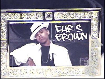 CHRIS BROWN PHOTO #2 GLOW DARK CZ (FREE BELT ) BUCKLE