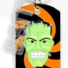 FRANKENSTEIN GREEN HEAD Dog Tag KEY CHAIN FOR COSTUME