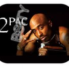 2PAC TUPAC SHAKUR RIP BLACK Photo Mousepad MOUSE PAD
