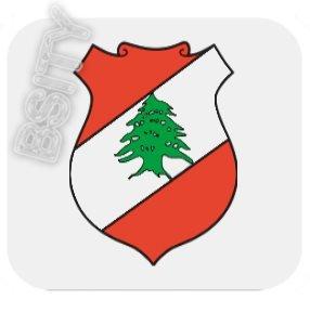 LEBANON Lebanese COAT ARMS FLAG FULL COLOR SET OF 4 COASTERS