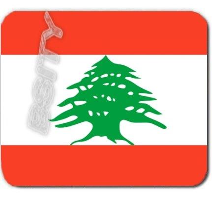 LEBANON Lebanese Republic FLAG Mousepad MOUSE PAD COLOR