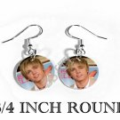 JESSE McCARTNEY PHOTO FISH HOOK CHARM Earrings