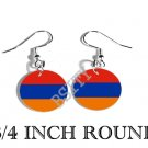 ARMENIA ARMENIAN Flag FISH HOOK CHARM Earrings