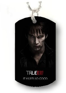 Bill Compton PHOTO TRUE BLOOD Dog Tag DOGTAG CUSTOM NECKLACE Pendant Jewelry