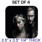 ERIC SOOKIE TRUE BLOOD Photo SET 4 DRINK SQUARE COASTERS