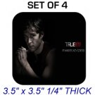 JASON STACKHOUSE TRUE BLOOD Photo SET 4 DRINK SQUARE COASTERS