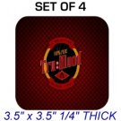 TRUE TRU BLOOD Photo SET 4 DRINK SQUARE COASTERS