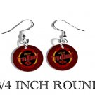 TRUE TRU BLOOD DRINK FISH HOOK DANGLE CHARM Earrings
