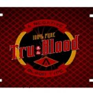 TRUE TRU BLOOD DRINK VANITY AUTO LICENSE PLATE