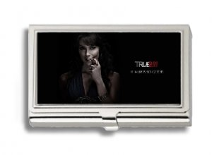 MARYANN FORRESTER PHOTO TRUE BLOOD Business Card Holder Metal Case