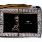 ERIC NORTHMAN PHOTO TRUE BLOOD BLING ICED OUT CZ SILVER BELT BUCKLE
