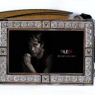 JASON STACKHOUSE PHOTO TRUE BLOOD BLING ICED OUT CZ SILVER BELT BUCKLE