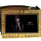 MARYANN FORRESTER PHOTO TRUE BLOOD BLING CZ GOLD BELT BUCKLE