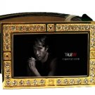 JASON STACKHOUSE PHOTO TRUE BLOOD BLING CZ GOLD BELT BUCKLE