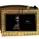 ERIC NORTHMAN PHOTO TRUE BLOOD BLING CZ GOLD BELT BUCKLE
