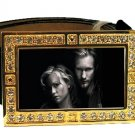ERIC SOOKIE PHOTO TRUE BLOOD BLING CZ GOLD BELT BUCKLE