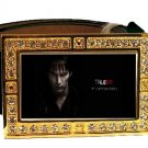 BILL COMPTON PHOTO TRUE BLOOD BLING CZ GOLD BELT BUCKLE
