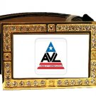 AVL VAMPIRE LEAGUE TRUE BLOOD BLING CZ GOLD BELT BUCKLE