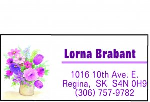 Personalized Return Address Labels