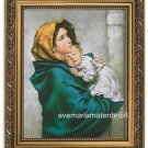 "Ferruzzi's Madonna & Child Catholic Picture 8"" x 10"" Print 11"" x 14"" Gold Frame"