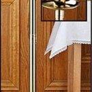 """Lenten Paschal Candle Stick  44""""H x 12""""W x 2"""" & 3"""" Dia. Socket Brass NEW"""