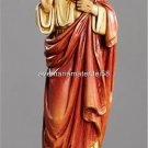 "Sacred Heart of Jesus Statue  Size:  12"" High Resin Boxed Hand Painted Italy"