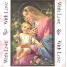 "Catholic Greeting Card for Mother ""On Mother's Day With Love"" by Cromo of Italy"