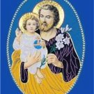 "A Catholic Vestment Applique Saint Joseph 10"" x 7"" Inches  NEW"
