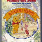 Disney's Winnie the Pooh Blackberry Surprise Baby Boardbook Bedtime English 1994